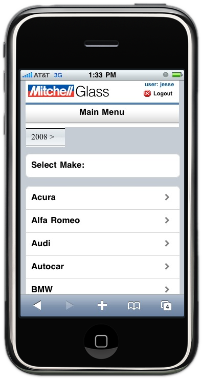 Mitchell GlassMate Auto Glass Software